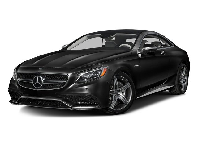 Obsidian Black Metallic 2016 Mercedes-Benz S-Class Pictures S-Class Coupe 2D S63 AMG AWD V8 Turbo photos front view