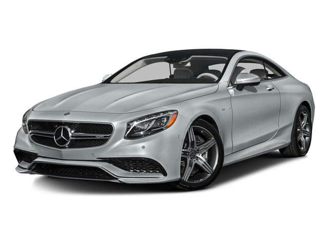Diamond Silver Metallic 2016 Mercedes-Benz S-Class Pictures S-Class Coupe 2D S63 AMG AWD V8 Turbo photos front view