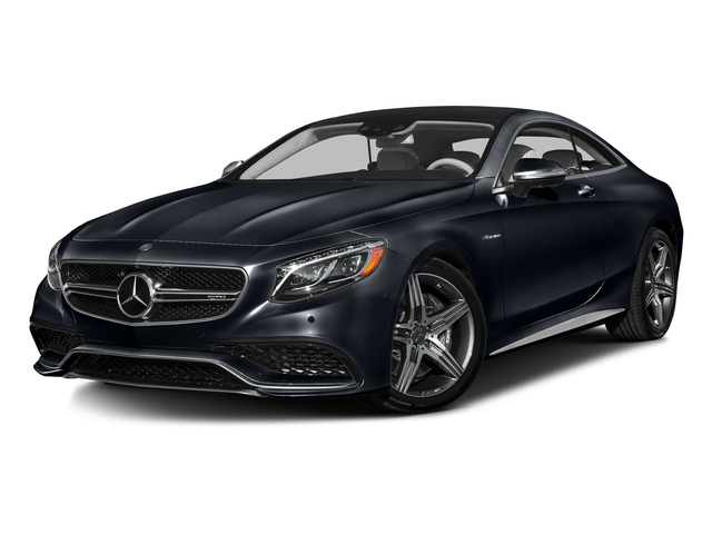 Anthracite Blue Metallic 2016 Mercedes-Benz S-Class Pictures S-Class Coupe 2D S63 AMG AWD V8 Turbo photos front view