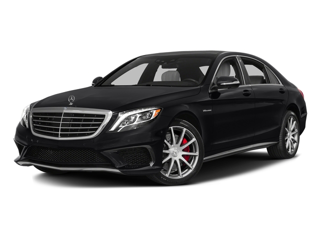 Black 2016 Mercedes-Benz S-Class Pictures S-Class Sedan 4D S63 AMG AWD V8 Turbo photos front view