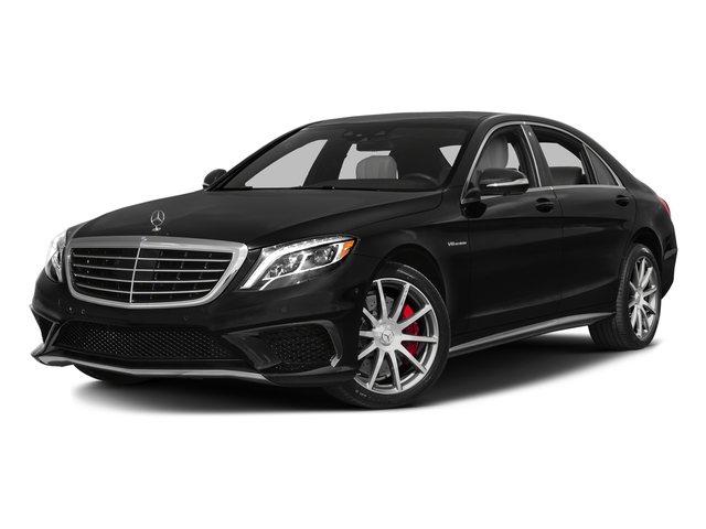 Obsidian Black Metallic 2016 Mercedes-Benz S-Class Pictures S-Class Sedan 4D S63 AMG AWD V8 Turbo photos front view