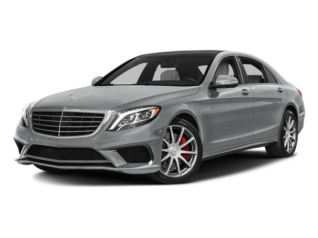 Iridium Silver Metallic 2016 Mercedes-Benz S-Class Pictures S-Class Sedan 4D S63 AMG AWD V8 Turbo photos front view