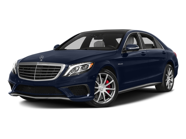 Lunar Blue Metallic 2016 Mercedes-Benz S-Class Pictures S-Class Sedan 4D S63 AMG AWD V8 Turbo photos front view