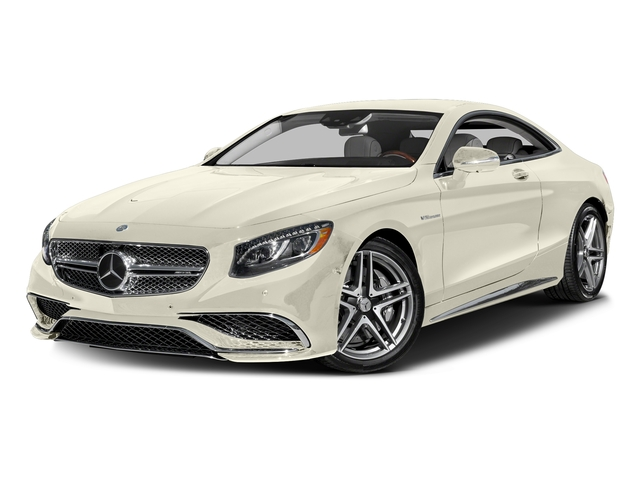designo Diamond White 2016 Mercedes-Benz S-Class Pictures S-Class 2 Door Coupe Rear Wheel Drive photos front view