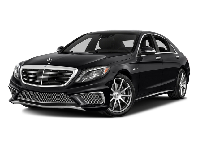 Black 2016 Mercedes-Benz S-Class Pictures S-Class 4 Door Sedan Rear Wheel Drive photos front view