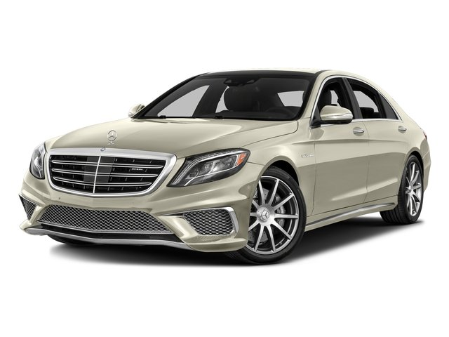 designo Diamond White 2016 Mercedes-Benz S-Class Pictures S-Class 4 Door Sedan Rear Wheel Drive photos front view