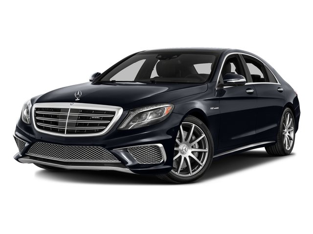 Anthracite Blue Metallic 2016 Mercedes-Benz S-Class Pictures S-Class 4 Door Sedan Rear Wheel Drive photos front view
