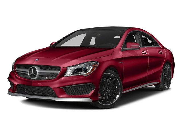 Jupiter Red 2016 Mercedes-Benz CLA Pictures CLA Sedan 4D CLA45 AMG AWD I4 Turbo photos front view
