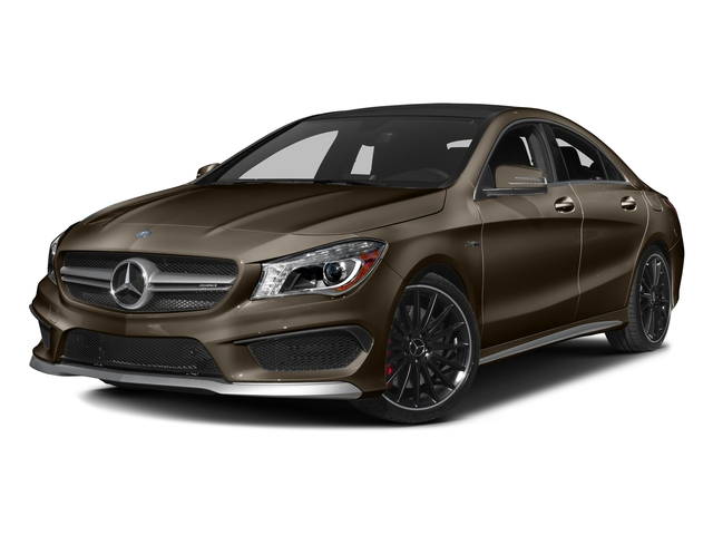 Cocoa Brown Metallic 2016 Mercedes-Benz CLA Pictures CLA Sedan 4D CLA45 AMG AWD I4 Turbo photos front view