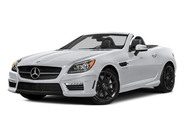 Polar White 2016 Mercedes-Benz SLK Pictures SLK Roadster 2D SLK55 AMG V8 photos front view
