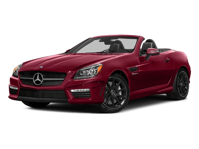 designo Cardinal Red Metallic 2016 Mercedes-Benz SLK Pictures SLK Roadster 2D SLK55 AMG V8 photos front view