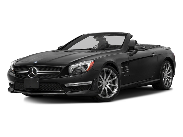 Black 2016 Mercedes-Benz SL Pictures SL Roadster 2D SL63 AMG V8 Turbo photos front view