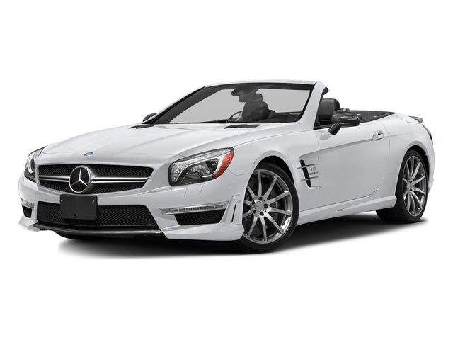 Polar White 2016 Mercedes-Benz SL Pictures SL Roadster 2D SL63 AMG V8 Turbo photos front view