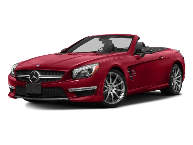 Mars Red 2016 Mercedes-Benz SL Pictures SL Roadster 2D SL63 AMG V8 Turbo photos front view