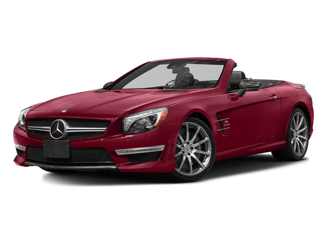 designo Cardinal Red Metallic 2016 Mercedes-Benz SL Pictures SL Roadster 2D SL63 AMG V8 Turbo photos front view