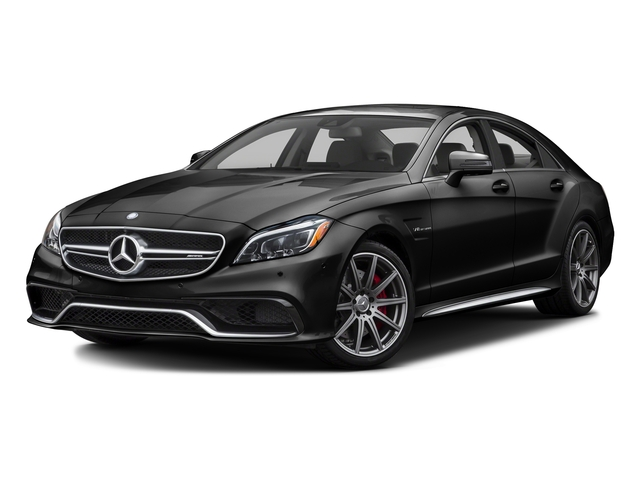 Obsidian Black Metallic 2016 Mercedes-Benz CLS Pictures CLS Sedan 4D CLS63 AMG S AWD V8 photos front view