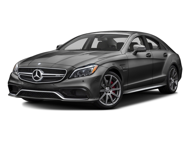 Steel Gray Metallic 2016 Mercedes-Benz CLS Pictures CLS Sedan 4D CLS63 AMG S AWD V8 photos front view