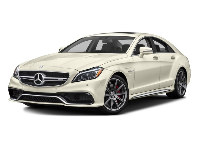 designo Diamond White Metallic 2016 Mercedes-Benz CLS Pictures CLS Sedan 4D CLS63 AMG S AWD V8 photos front view