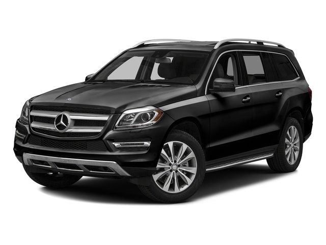 Obsidian Black Metallic 2016 Mercedes-Benz GL Pictures GL Utility 4D GL450 4WD V6 photos front view