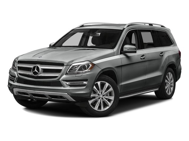 Palladium Silver Metallic 2016 Mercedes-Benz GL Pictures GL Utility 4D GL450 4WD V6 photos front view