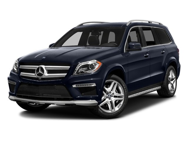 Lunar Blue Metallic 2016 Mercedes-Benz GL Pictures GL Utility 4D GL350 BlueTEC 4WD V6 photos front view