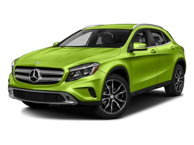 Kryptonite Green Metallic 2016 Mercedes-Benz GLA Pictures GLA Utility 4D GLA250 AWD I4 Turbo photos front view