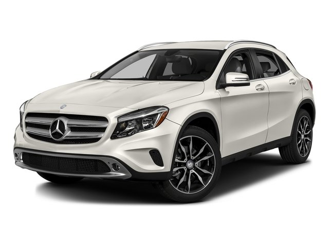 Cirrus White 2016 Mercedes-Benz GLA Pictures GLA Utility 4D GLA250 AWD I4 Turbo photos front view