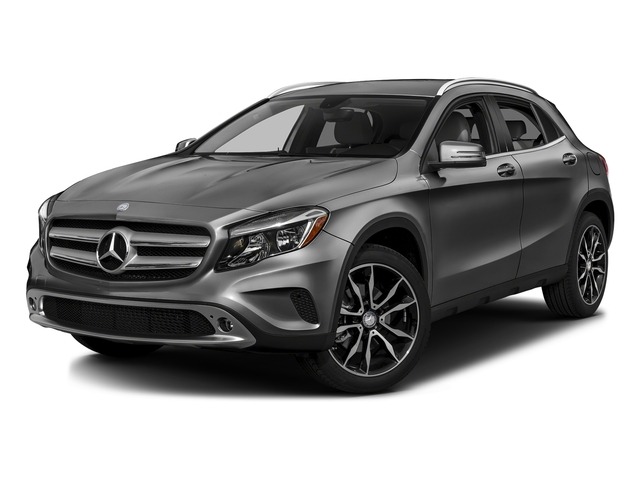 designo Mountain Gray Magno 2016 Mercedes-Benz GLA Pictures GLA Utility 4D GLA250 AWD I4 Turbo photos front view