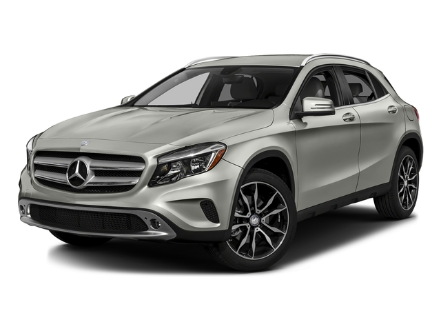 Polar Silver Metallic 2016 Mercedes-Benz GLA Pictures GLA Utility 4D GLA250 AWD I4 Turbo photos front view