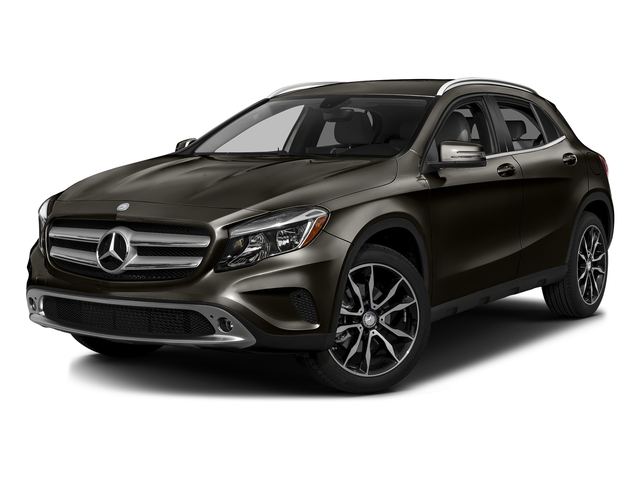 Cocoa Brown Metallic 2016 Mercedes-Benz GLA Pictures GLA Utility 4D GLA250 AWD I4 Turbo photos front view