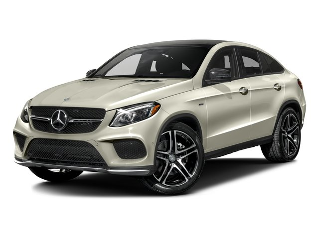 Polar White 2016 Mercedes-Benz GLE Pictures GLE Utility 4D GLE450 Sport Coupe AWD V6 photos front view