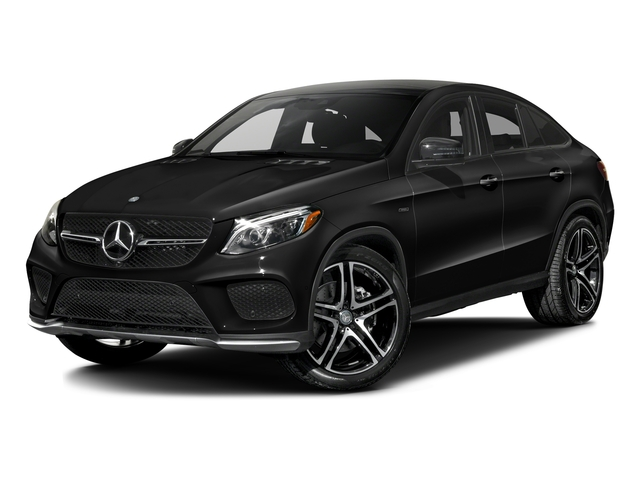 Obsidian Black Metallic 2016 Mercedes-Benz GLE Pictures GLE Utility 4D GLE450 Sport Coupe AWD V6 photos front view