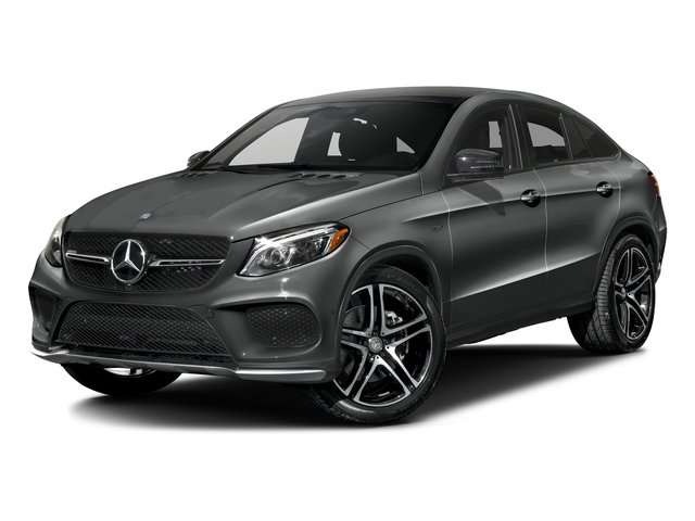 Palladium Silver Metallic 2016 Mercedes-Benz GLE Pictures GLE Utility 4D GLE450 Sport Coupe AWD V6 photos front view