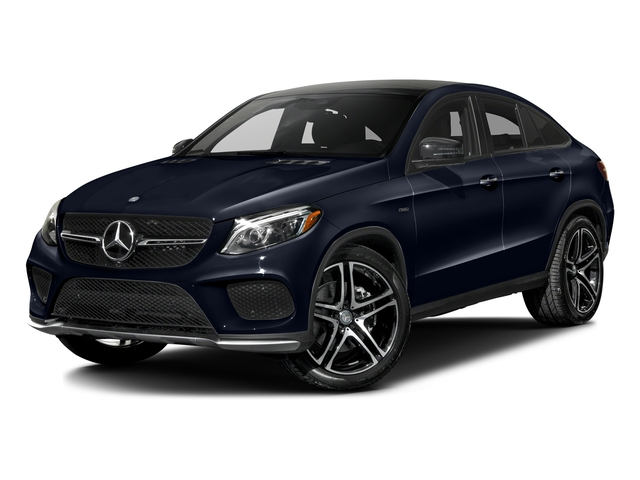 Lunar Blue Metallic 2016 Mercedes-Benz GLE Pictures GLE Utility 4D GLE450 Sport Coupe AWD V6 photos front view