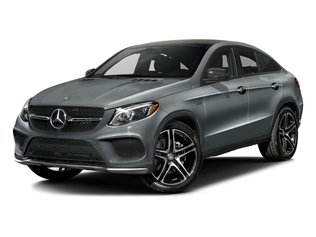 Diamond Silver Metallic 2016 Mercedes-Benz GLE Pictures GLE Utility 4D GLE450 Sport Coupe AWD V6 photos front view