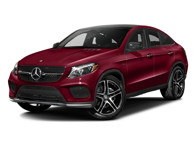 designo Cardinal Red Metallic 2016 Mercedes-Benz GLE Pictures GLE Utility 4D GLE450 Sport Coupe AWD V6 photos front view