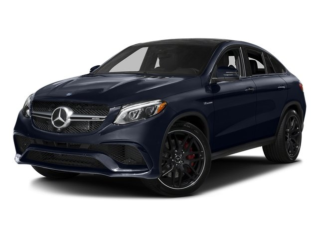 Lunar Blue Metallic 2016 Mercedes-Benz GLE Pictures GLE Utility 4D GLE63 AMG S Sport Cpe AWD photos front view