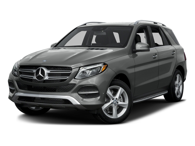 Palladium Silver Metallic 2016 Mercedes-Benz GLE Pictures GLE Utility 4D GLE300 AWD I4 Diesel photos front view