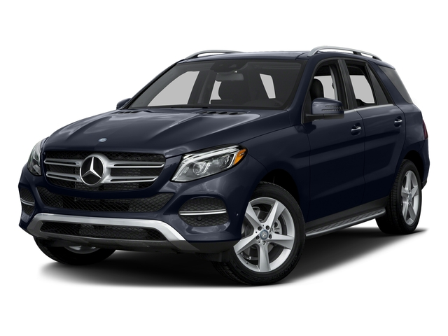 Lunar Blue Metallic 2016 Mercedes-Benz GLE Pictures GLE Utility 4D GLE300 AWD I4 Diesel photos front view