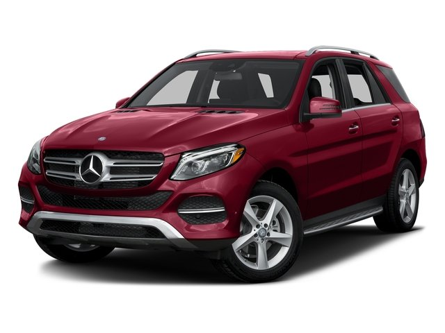 designo Cardinal Red Metallic 2016 Mercedes-Benz GLE Pictures GLE Utility 4D GLE300 AWD I4 Diesel photos front view