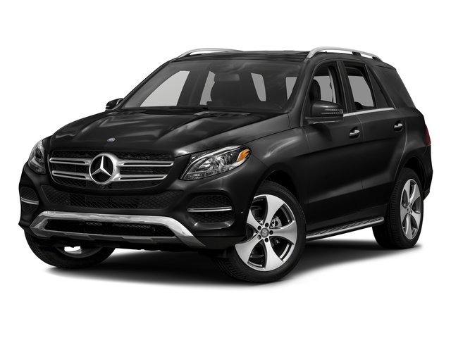 Obsidian Black Metallic 2016 Mercedes-Benz GLE Pictures GLE Utility 4D GLE350 AWD V6 photos front view