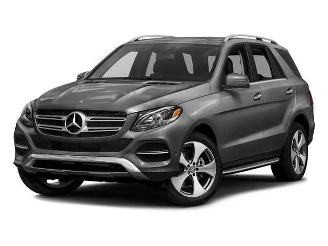Palladium Silver Metallic 2016 Mercedes-Benz GLE Pictures GLE Utility 4D GLE350 AWD V6 photos front view