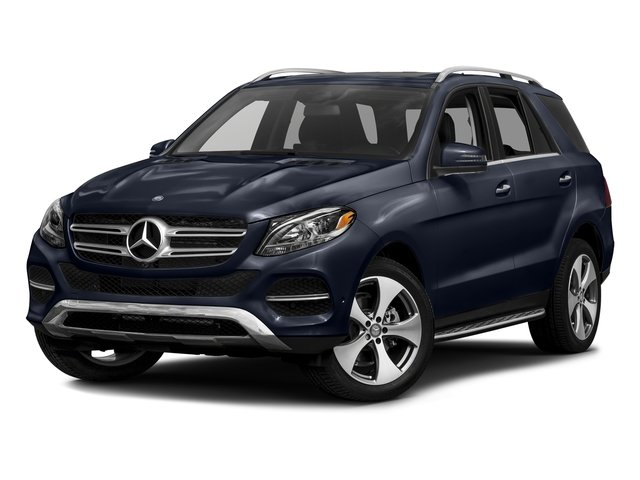 Lunar Blue Metallic 2016 Mercedes-Benz GLE Pictures GLE Utility 4D GLE350 AWD V6 photos front view