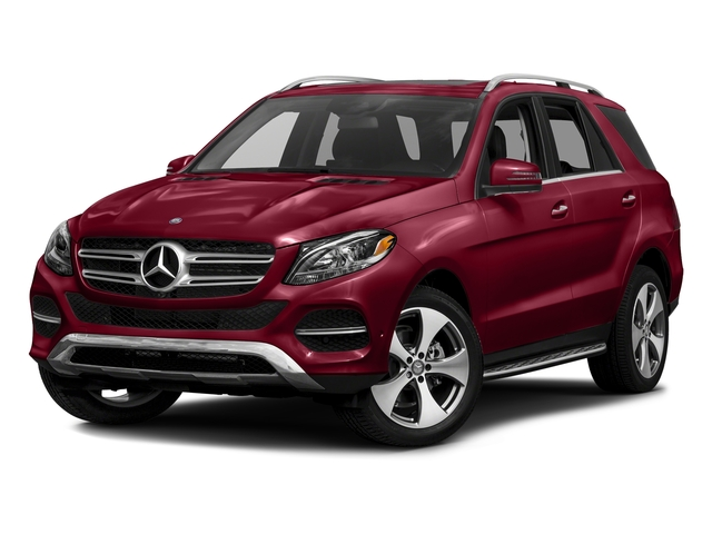 designo Cardinal Red Metallic 2016 Mercedes-Benz GLE Pictures GLE Utility 4D GLE350 AWD V6 photos front view