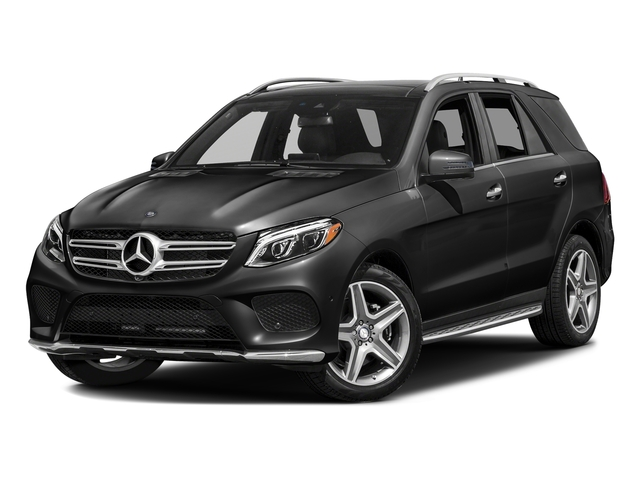 Obsidian Black Metallic 2016 Mercedes-Benz GLE Pictures GLE Utility 4D GLE400 AWD V6 photos front view
