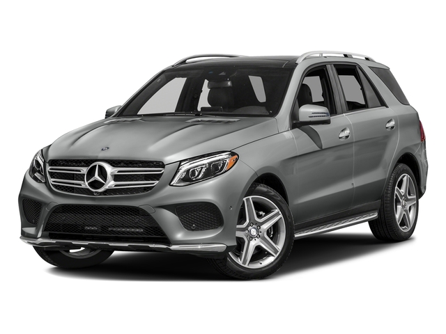 Palladium Silver Metallic 2016 Mercedes-Benz GLE Pictures GLE Utility 4D GLE400 AWD V6 photos front view