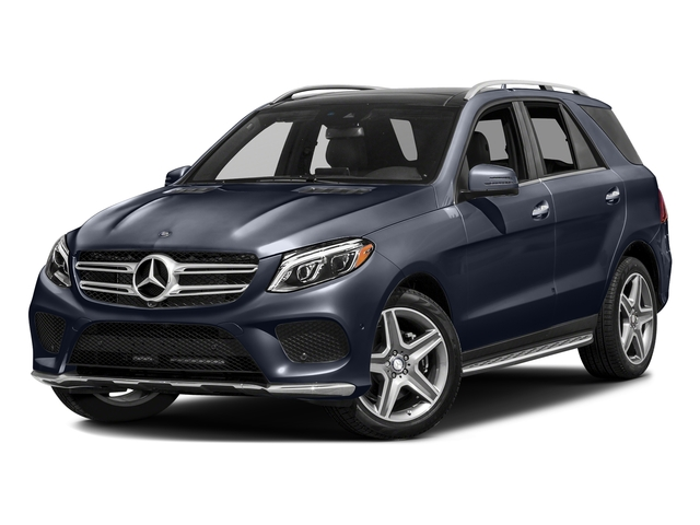 Lunar Blue Metallic 2016 Mercedes-Benz GLE Pictures GLE Utility 4D GLE400 AWD V6 photos front view
