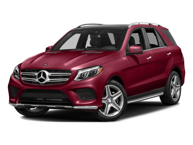 designo Cardinal Red Metallic 2016 Mercedes-Benz GLE Pictures GLE Utility 4D GLE400 AWD V6 photos front view