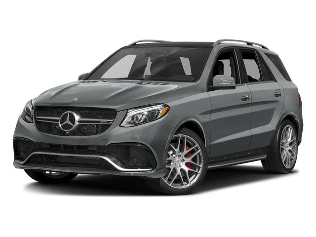 Iridium Silver Metallic 2016 Mercedes-Benz GLE Pictures GLE Utility 4D GLE63 AMG S AWD V8 photos front view