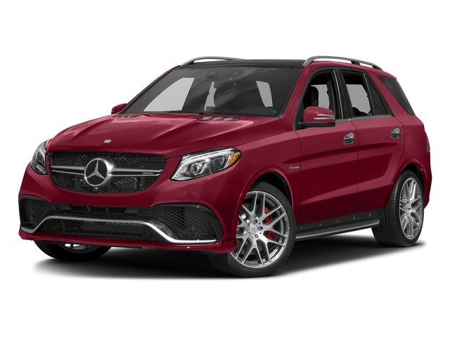 designo Cardinal Red Metallic 2016 Mercedes-Benz GLE Pictures GLE Utility 4D GLE63 AMG S AWD V8 photos front view